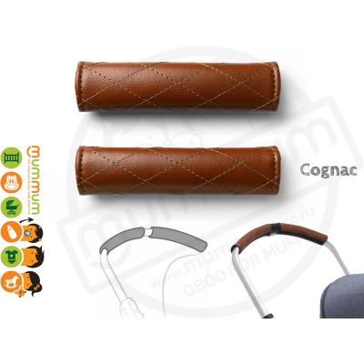 Bugaboo Bee5 grips Cognac Brown