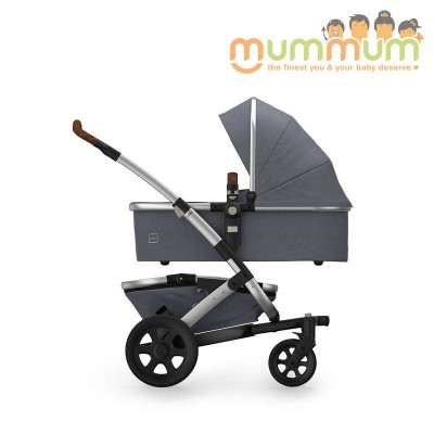 Joolz Geo2 Gris  Double Buggy  incl: Chassis Upper Bassinet Upper seat storage basket