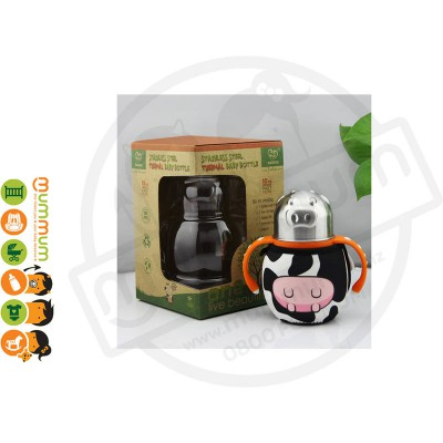 Haakaa Stainless Steel Bottle Wide Neck Milk 300ml