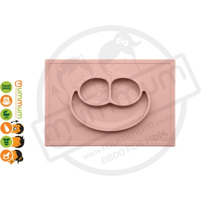 EZPZ Silicone Happy Mat Placemate & Plate in One - Blush