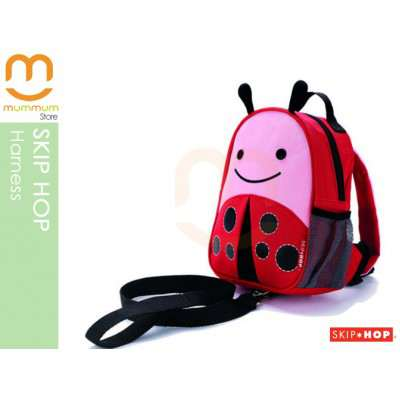SKIP HOP ZOO Let Safety Harness n Backpack - Ladybug