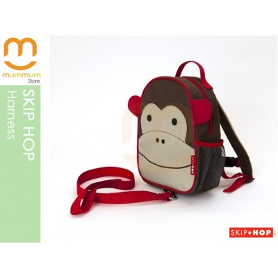 SKIP HOP ZOO Let Safety Harness and Backpack - Monkey