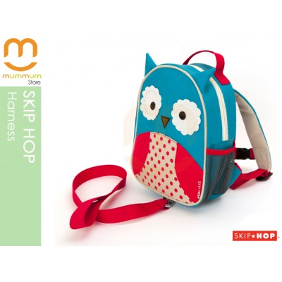 SKIP HOP ZOO Let Safety Harness and Backpack - Owl