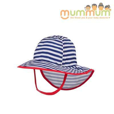 Sunday Afternoon Infant SunSprout Hat (Navy/White)
