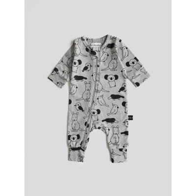 Huxbaby Love Australia Long Zip Romper  *Limited Edition*