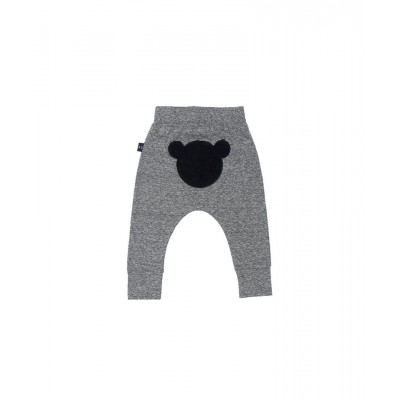 aefeb46df4d Huxbaby Bear Back Drop Crotch Pant