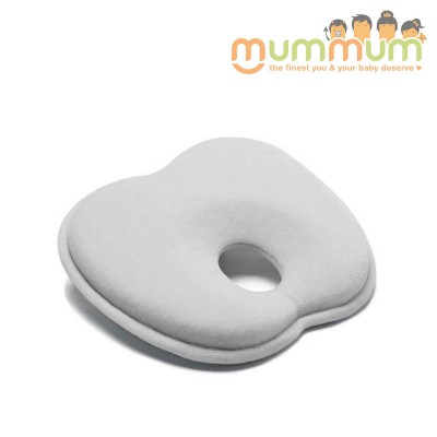 New Born Baby Pillow Mije-Baby Head Rest Memory Foam Head Support in White