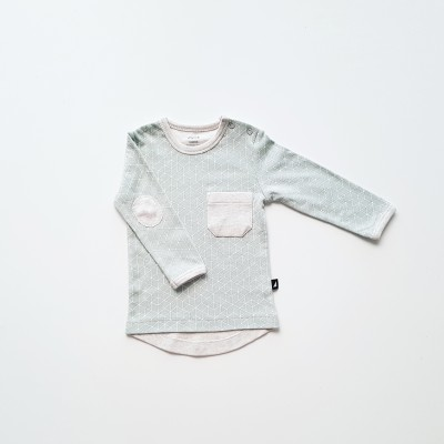 Anarkid Shirt Hexagon Contrast Sea Foam