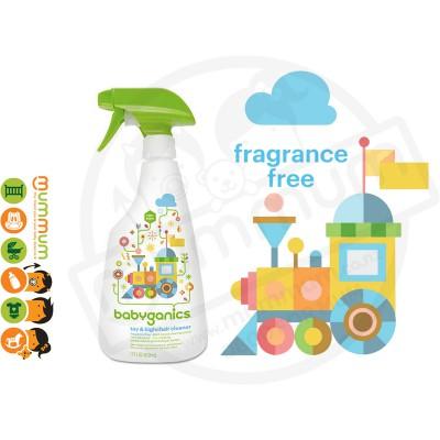 BabyGanics Toy & Highchair Cleaner 17oz/502ml Fragrance Free
