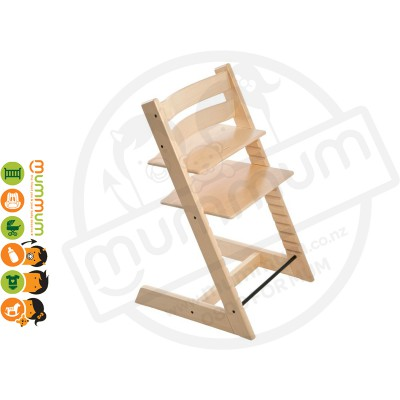 Stokke Tripp Trapp Highchair Natural Made in Euro