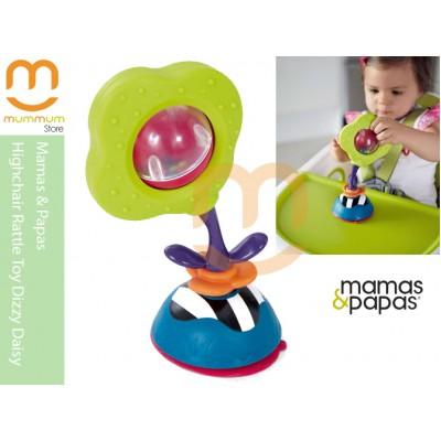 mamas & papas Highchair Rattle Toy Dizzy Daisy 0Y+