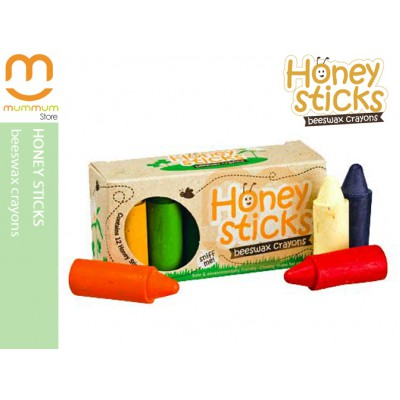 Honey Sticks Beeswax Crayons Contains 12 Colors