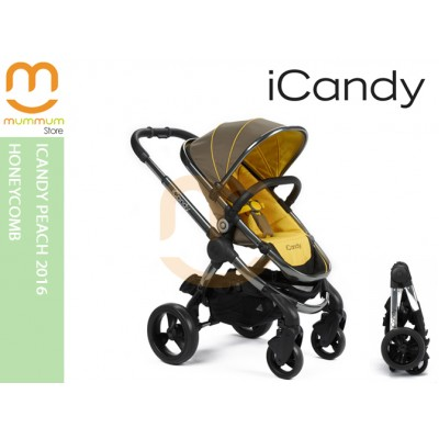 iCandy Peach 2016 Honeycomb double stroller (Pre-order)