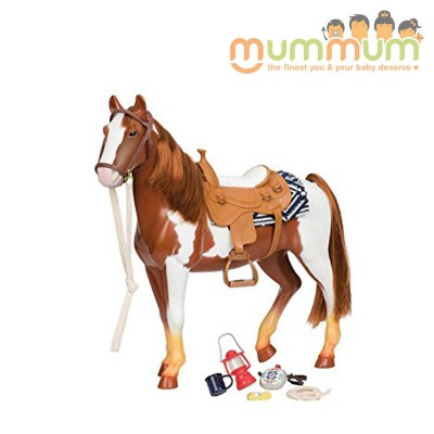Our Generation Horse cheval appaloosa