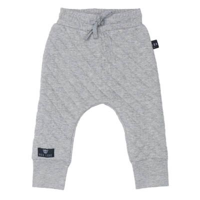 Huxbaby Stitch Pant Grey Marle 1-5y