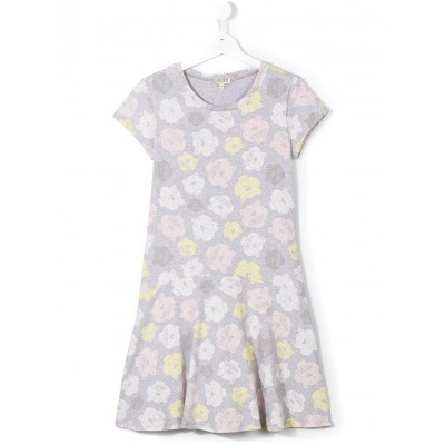 Kenzo Jungle Dress Grey 2A-6A, 8A