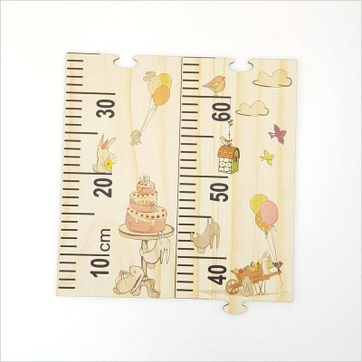 Crystal Ashley growth chart ruler Woodland party