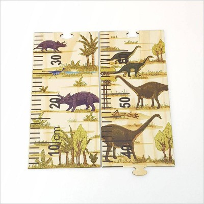 Crystal Ashley growth chart ruler Dinosaurs