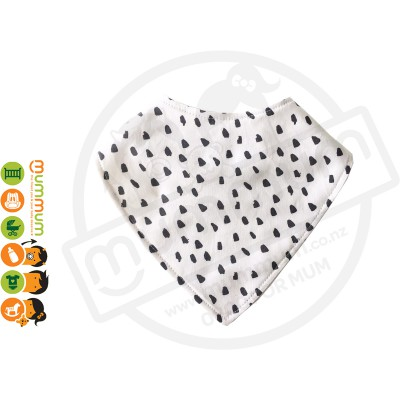 Eversweet Dribble Bib Inky Dots