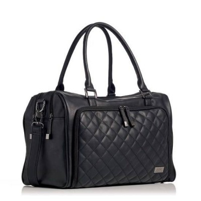 Double Zip Satchel Quilted Changing Bag Nappy Bag