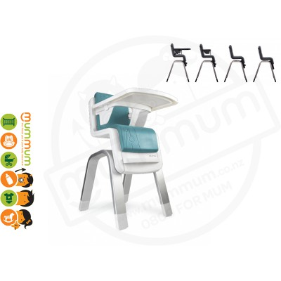 Nuna Zaaz Innovative Highchair Jade