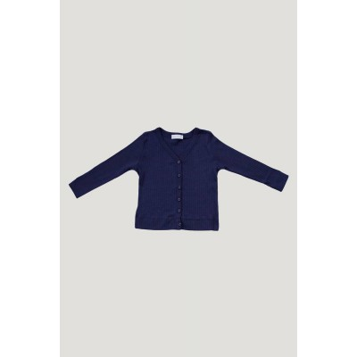Jamie Kay Cotton Modal Cardigan Navy