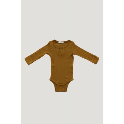 Jamie Kay Cotton Modal Essentials Bodysuit Golden