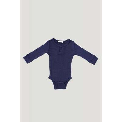 Jamie Kay Cotton Essentials Modal Bodysuit Navy