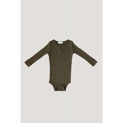 Jamie Kay Cotton Essentials Bodysuit Olive