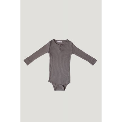 Jamie Kay Cotton Essentials Bodysuit Titanium