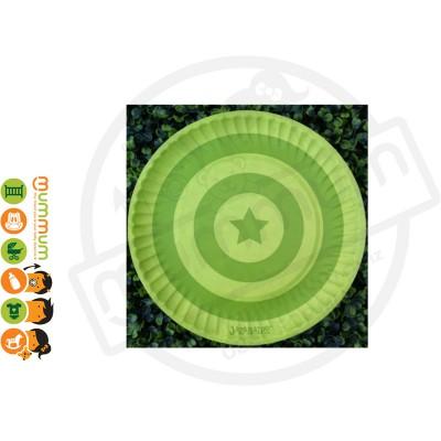 Jazabaloo Plate Lime 12pcs Stock Clearance