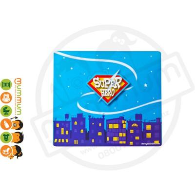Jazabaloo Superhero Fans Placemats Stock Clearance
