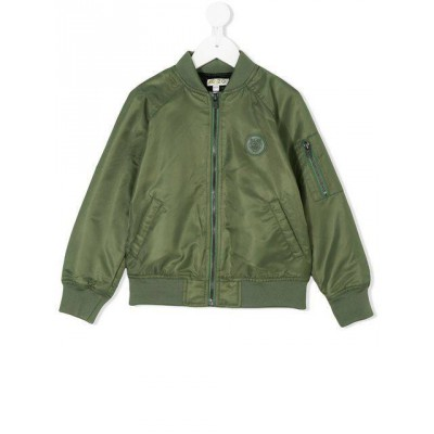 Kenzo kids Tiger patch bomber jacket 8A 12A
