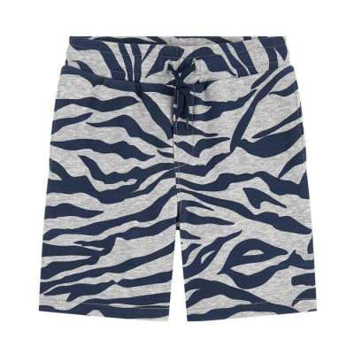 Kenzo Boy's Blue Tiger Striped Shorts 5Y