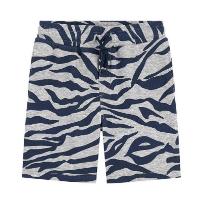 Kenzo Boy's Blue Tiger Striped Shorts 8Y