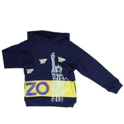 Kenzo Doug Sweater Navy 8-10Y