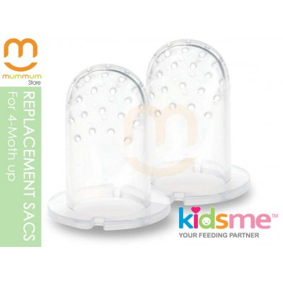 Kidsme Fresh Food Feeder Replacement Sac 2per pack