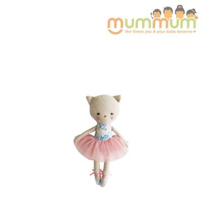 Alimrose Odette Kitty Ballerina 25cm Liberty Blue