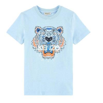 Kenzo Tee Shirt Light Blue 2A-5A