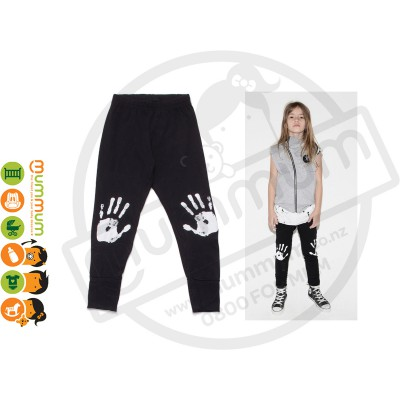 Nununu Knee Print Leggings Black