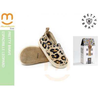 Pretty Brave Shoes Espadrille Leopard