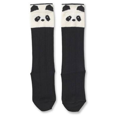 Liewood Sofia Cotton Knee Socks Panda Crème 1y,2y,4y
