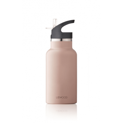 Liewood Anker Water Bottle Stainless Steel Rose