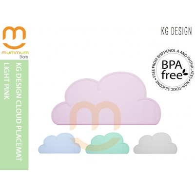 KG DESIGN CLOUD PLACEMAT Light Pink