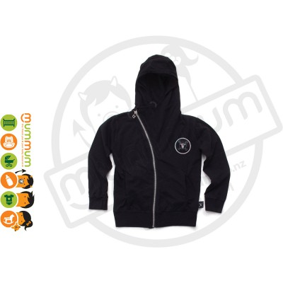 Nununu Light Zip Hoodie Black