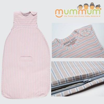 MerinoKids GoGo Bag Standard Weight - Light Pink 0-2Y