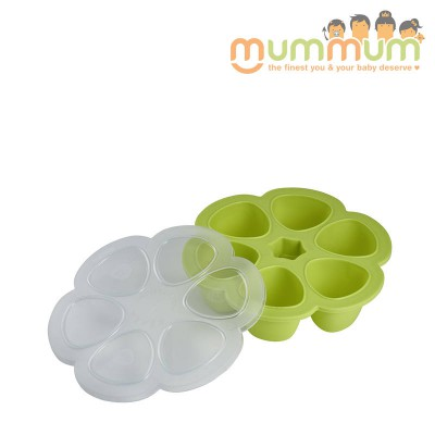 Beaba Silicone Multipurtions 6 X 90ml Neon Freezer Tray