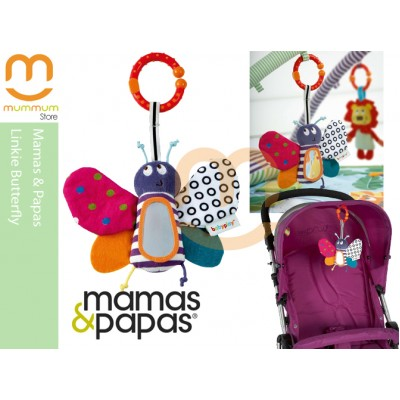 mamas & papas Linkie Butterfly Activity Toy 0M+
