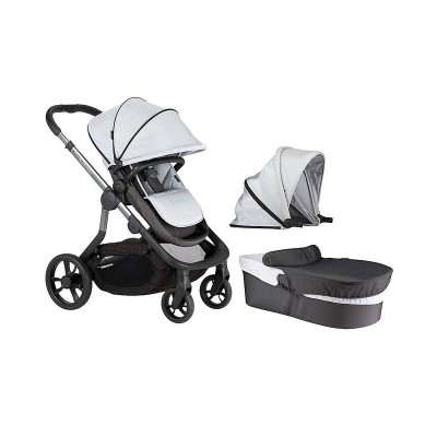 iCandy Orange Stroller Single/ Double Mercury full stroller w/ Carrycot