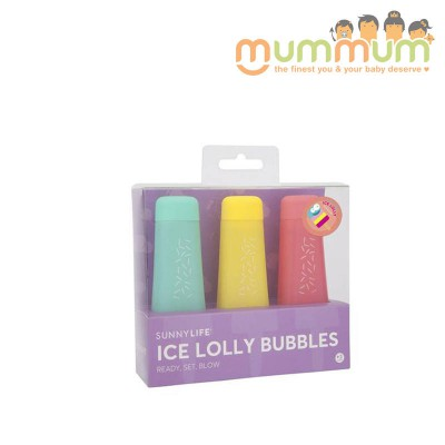 Sunnylife Ice lolly bubbles set of 3